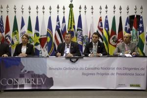 Conaprev reúne gestores de regimes próprios dos estados e municípios. Foto: Erasmo Salomão