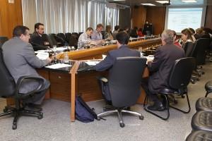 Propostas são discutidas em reunião com técnicos italianos. Foto: Erasmo Salomão/MPS