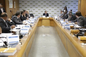 CNPC se reuniu nesta quarta-feira(25), em Brasília. Foto: Erasmo Salomão/MTPS
