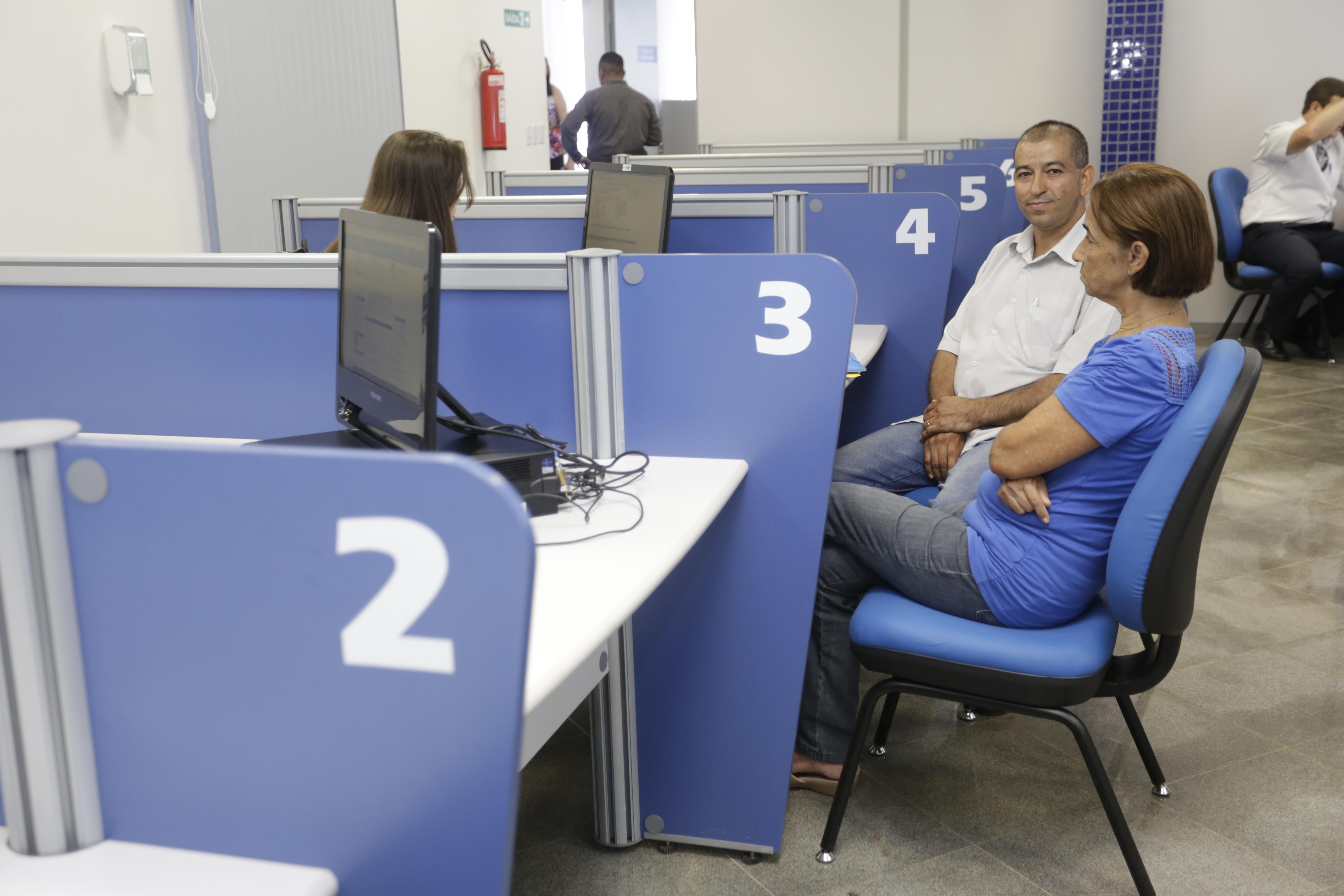 Agência foi equipada com mobiliário novo para melhor atender o segurado. Foto Erasmo Salomão