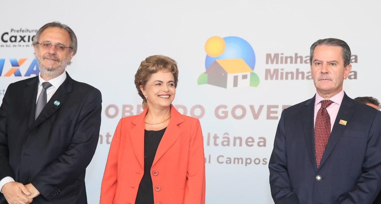 Ministro Miguel Rossetto acompanhou a entrega na cidade de Caxias do Sul/RS. Foto: Roberto Stuckert Filho/PR
