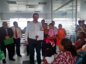 O secretário executivo do MTPS, Claudio Puty, durante inauguração de agência no Pará. Foto: ASCOM / MTPS