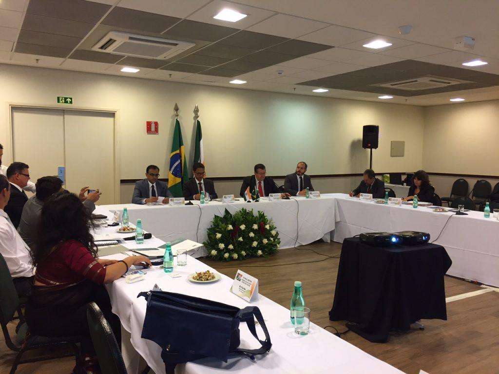 Delegações do Brasil e da Índia se reúnem para negociar acordo de Previdência Social
